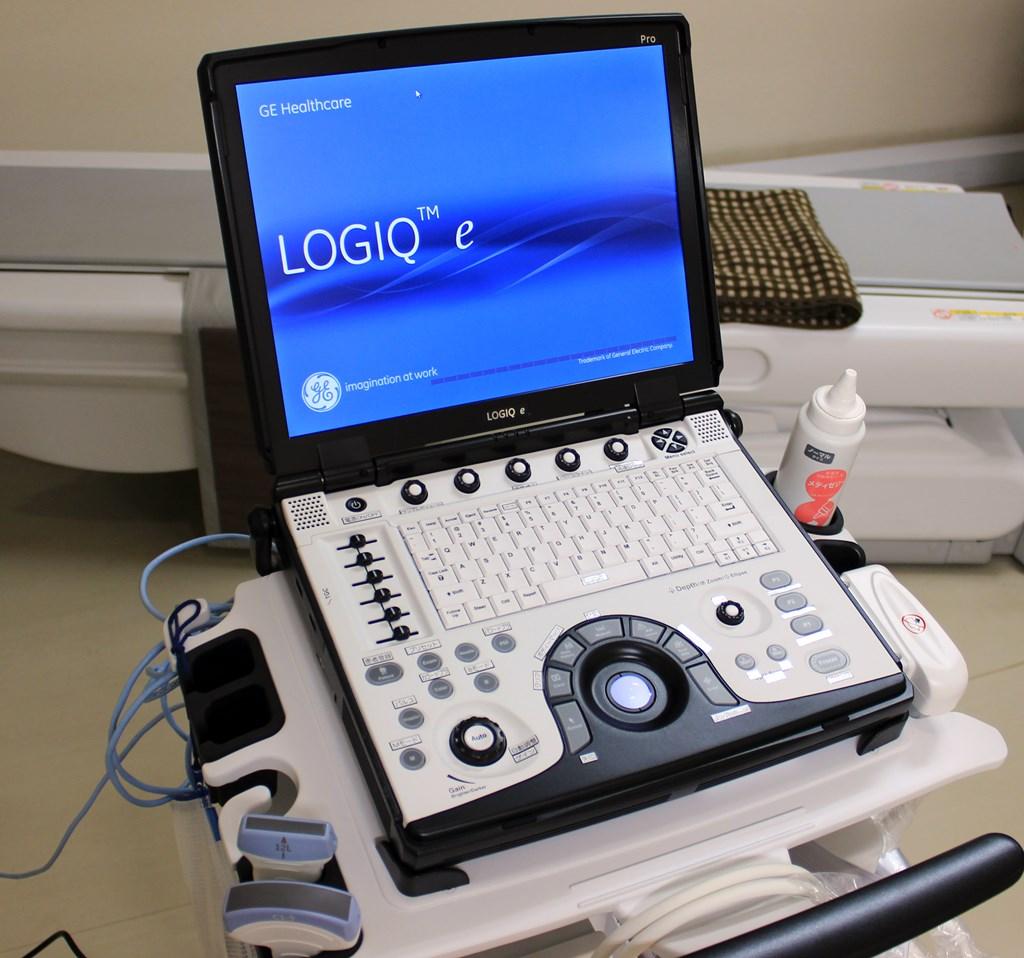 超音波診断装置 GE LOGIQ e Preminu